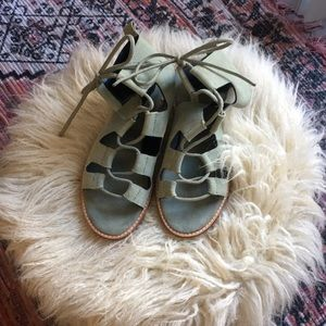 Never worn gladiator sandals
